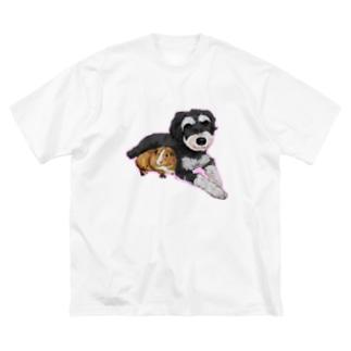 なかよしモルシュナ2☆パステル Big Silhouette T-Shirt