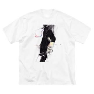 LWL+artのNimaijita Big silhouette T-shirts