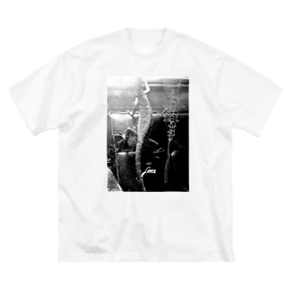 Lizardmono Big silhouette T-shirts
