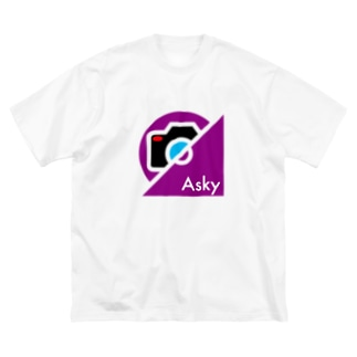 パ紋No.3397 Asky Big silhouette T-shirts