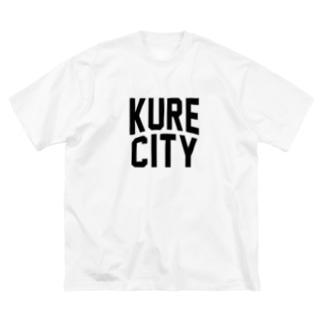 呉市 KURE CITY Big silhouette T-shirts