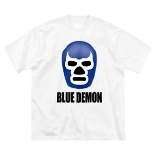 BLUE DEMON / ブルーデモン Big silhouette T-shirts