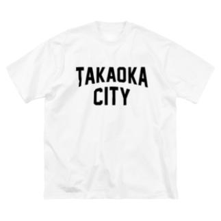 高岡市 TAKAOKA CITY Big silhouette T-shirts