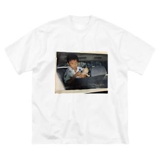 キューピー Big silhouette T-shirts