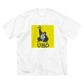 UHOゴリ モビリティ(イエロー) Big silhouette T-shirts
