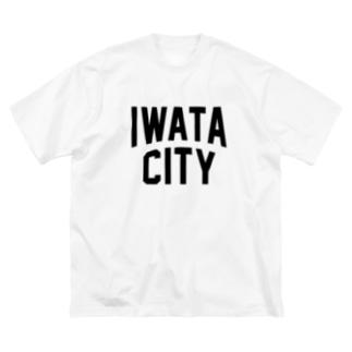 磐田市 IWATA CITY Big silhouette T-shirts