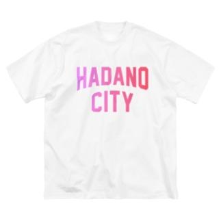 秦野市 HADANO CITY Big silhouette T-shirts