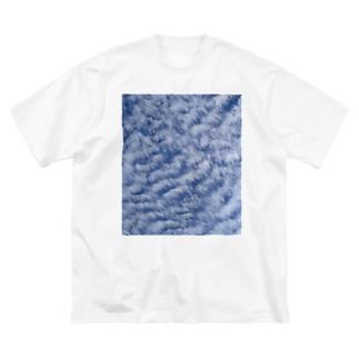 いわし雲photo Big silhouette T-shirts
