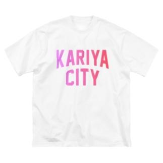刈谷市 KARIYA CITY Big silhouette T-shirts