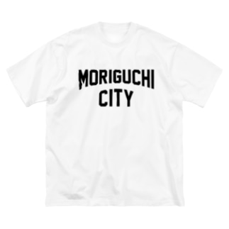 守口市 MORIGUCHI CITY Big silhouette T-shirts