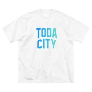 戸田市 TODA CITY Big silhouette T-shirts