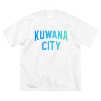 桑名市 KUWANA CITY Big silhouette T-shirts