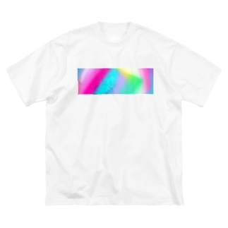 プリズム Big silhouette T-shirts