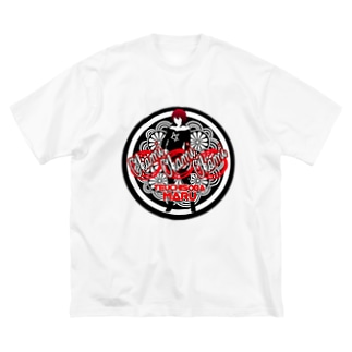 TK-pro(手打ちそばまる_女将) Big silhouette T-shirts