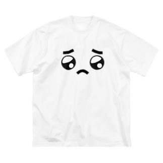 ぴぴぴえん Big silhouette T-shirts
