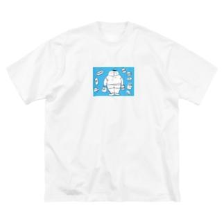 太っちょくん Big silhouette T-shirts