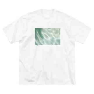 みなものひかり Big silhouette T-shirts