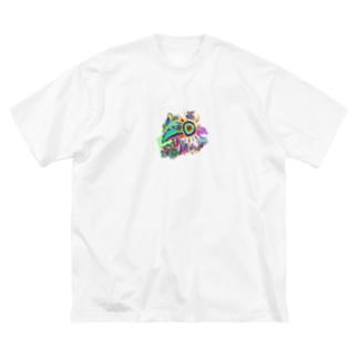 anniversaire♥ Big silhouette T-shirts
