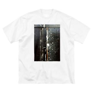 LWL+artのFragments2 Big silhouette T-shirts
