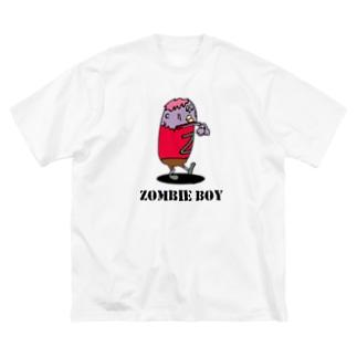 ゾンビ少年 Big silhouette T-shirts
