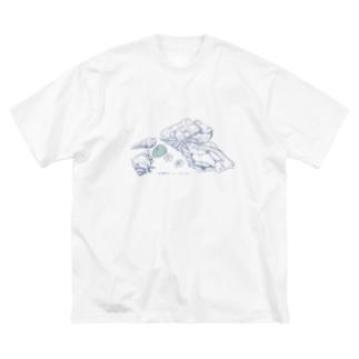 貝殻 Big Silhouette T-Shirt