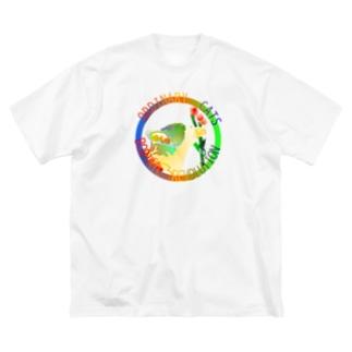 ORDINARY CATS6(夏) Big Silhouette T-Shirt