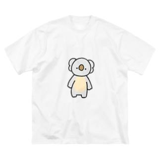 こあら Big silhouette T-shirts