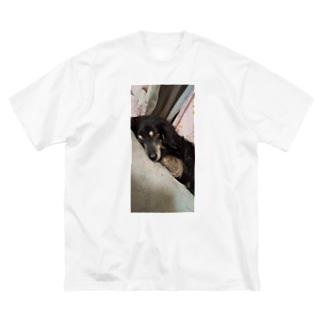 すやすやおひるね Big Silhouette T-Shirt