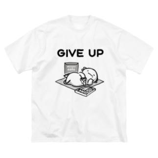 うーぱーいーつ~GIVE UP~ Big silhouette T-shirts