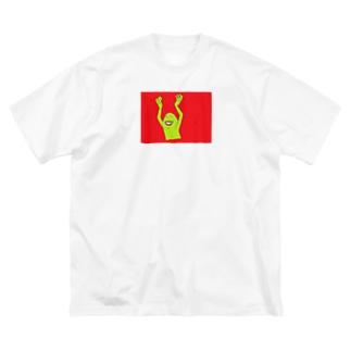 あいつ Big silhouette T-shirts