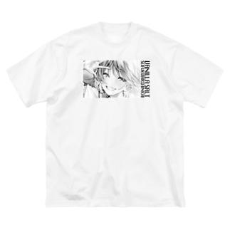 制服愛好委員会 Big silhouette T-shirts