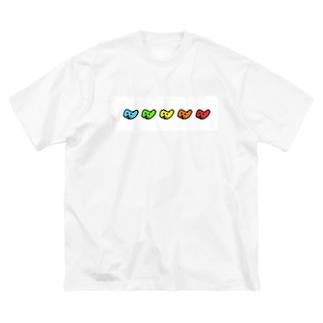 蟻の熊野参り Big silhouette T-shirts