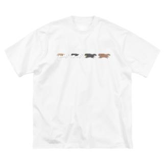 キャバリア CKCSパーカー Big silhouette T-shirts