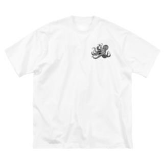 タコ+ Big Silhouette T-Shirt