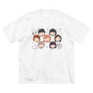 アイドル教室11周年記念グッズ Big silhouette T-shirts