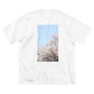 桜 Big Silhouette T-Shirt