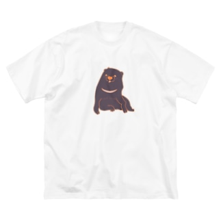 あの犬/ツキノワイヌ Big silhouette T-shirts