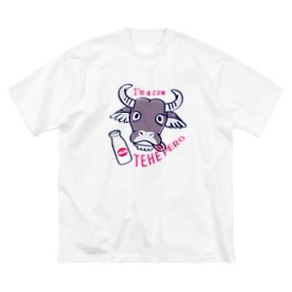 CT78水牛くんB*A Big silhouette T-shirts