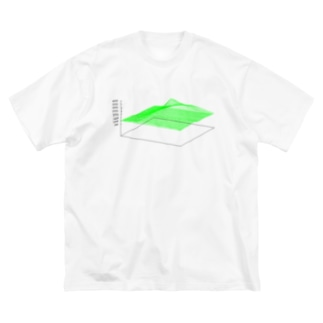 3D Mt.Fuji Big silhouette T-shirts