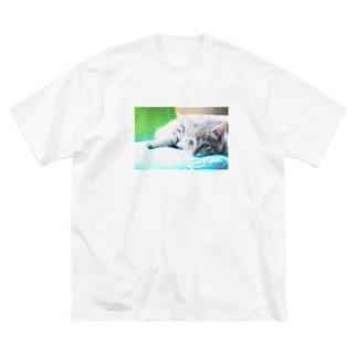 幼い姫 Red ver. Big silhouette T-shirts