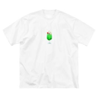 クリームシャチソーダ Big T-shirts