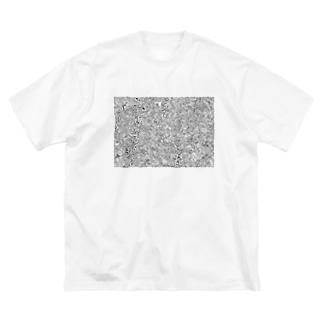 Moyaのもやもやなもの Big silhouette T-shirts