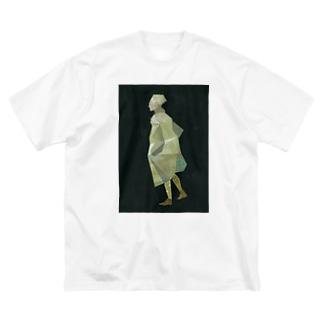 ヤマダユウの歩く人 Big Silhouette T-Shirt