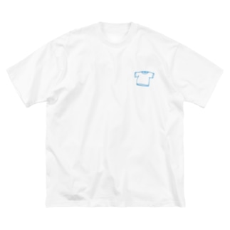 TシャツのTシャツ Big silhouette T-shirts
