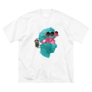 K collage01 Big silhouette T-shirts