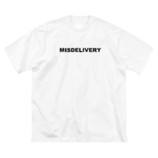 MISDELIVERY Big silhouette T-shirts
