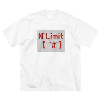 NOリミット!3 Big silhouette T-shirts