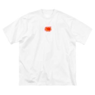カレー食べたい Big silhouette T-shirts