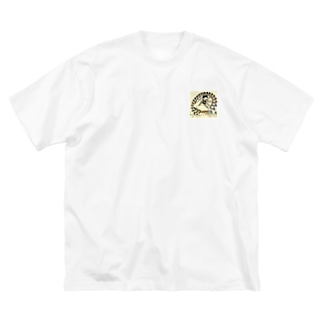 GS WHAT GOES AROUND COMES AROUND 002 Big silhouette T-shirts