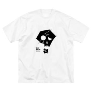 Sad Skull Big T-shirts